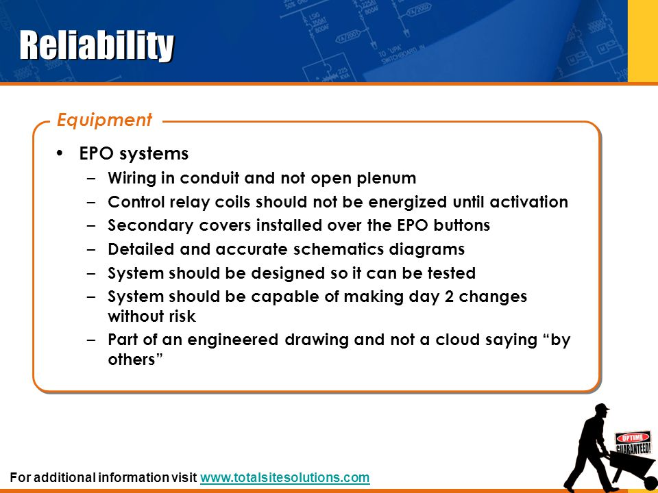 Reliability Equipment EPO systems