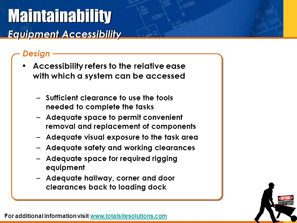 Equipment Accessibility