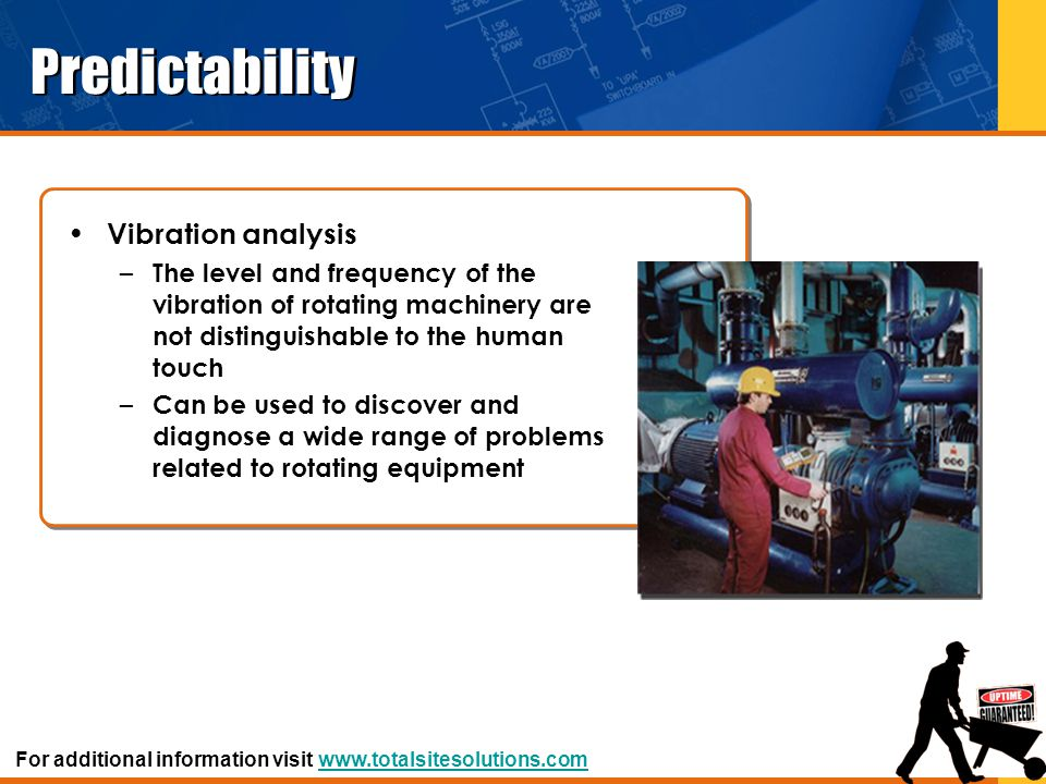 Predictability Vibration analysis