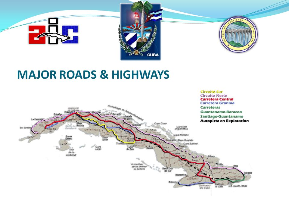 MAJOR ROADS & HIGHWAYS