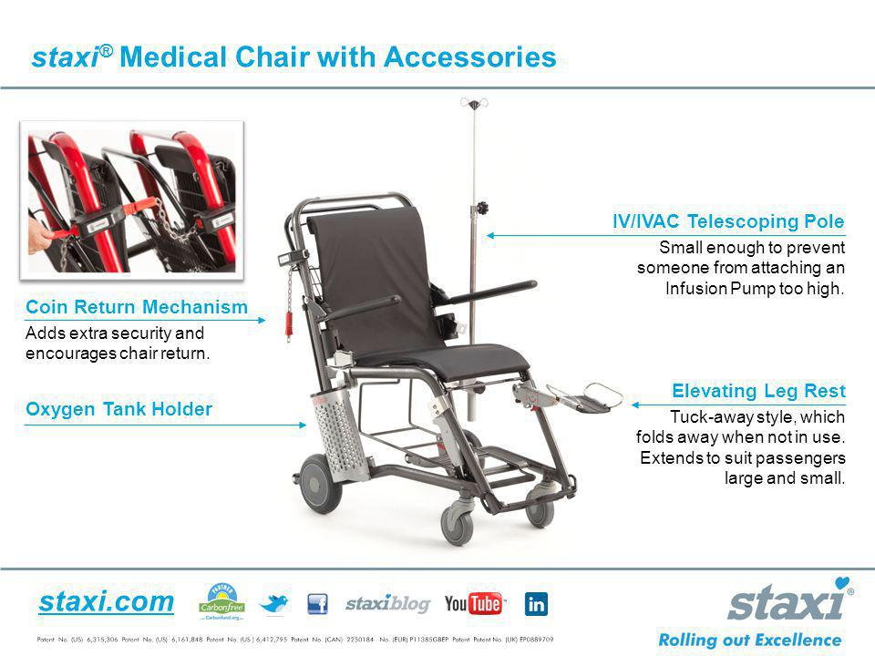 staxi® Medical Chair with Accessories