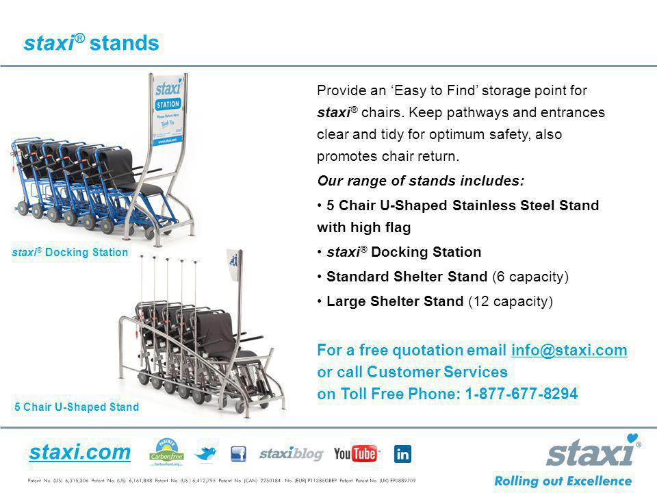 staxi® stands