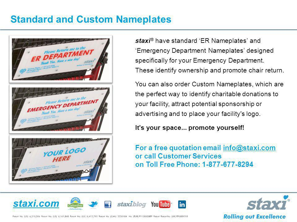 Standard and Custom Nameplates