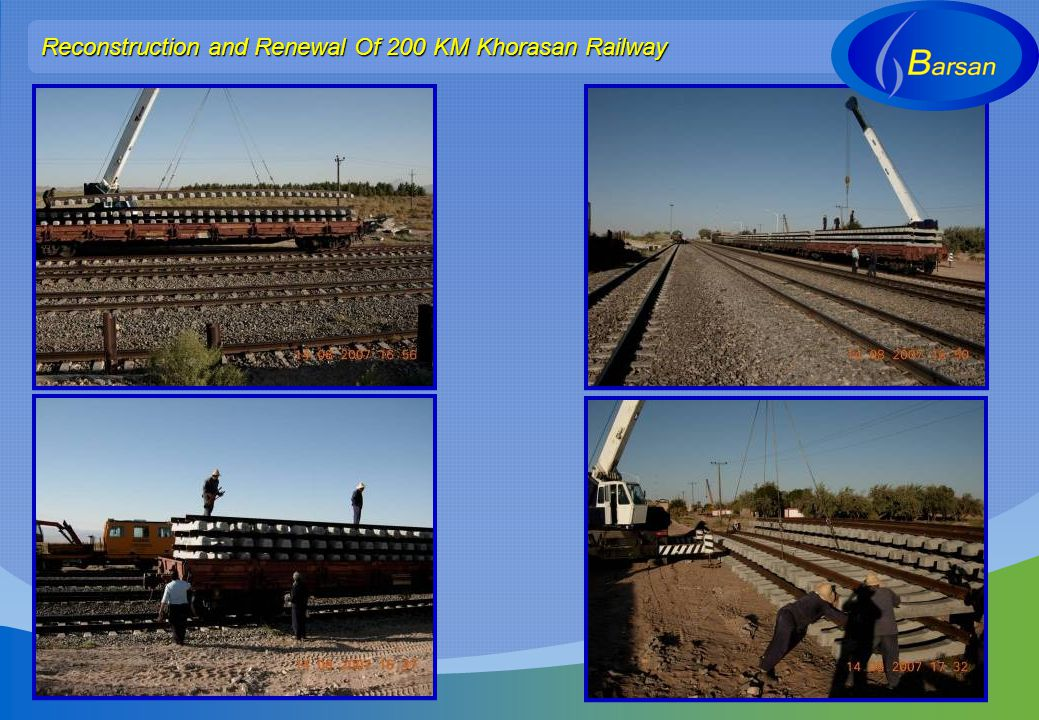 Reconstruction and Renewal Of 200 KM Khorasan Railway