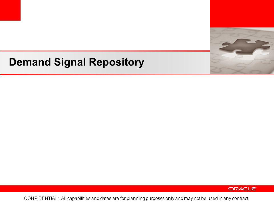 Demand Signal Repository