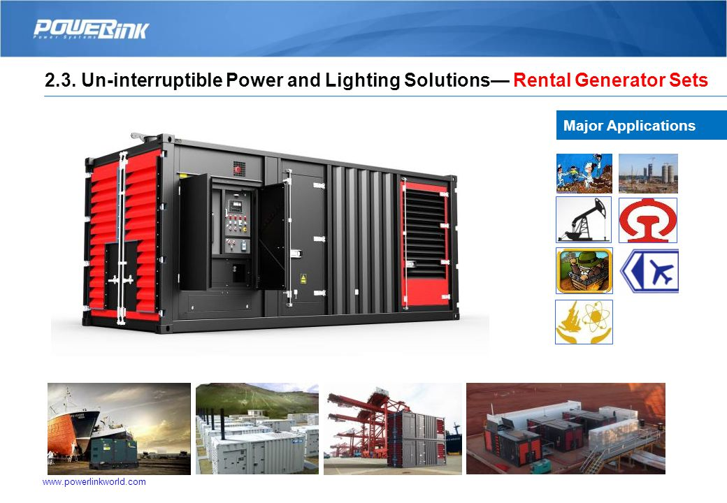 Un-interruptible Power and Lighting Solutions— Portable Lighting Tower