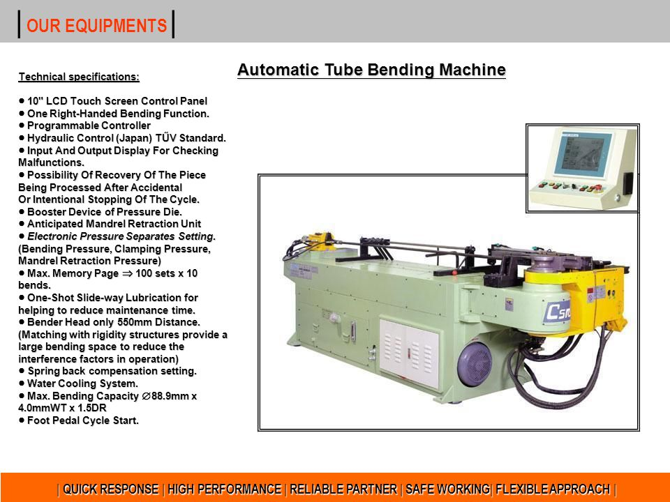 Automatic Tube Bending Machine