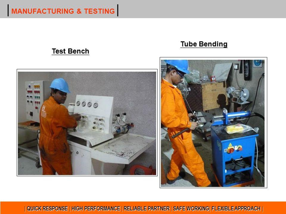 | MANUFACTURING & TESTING |