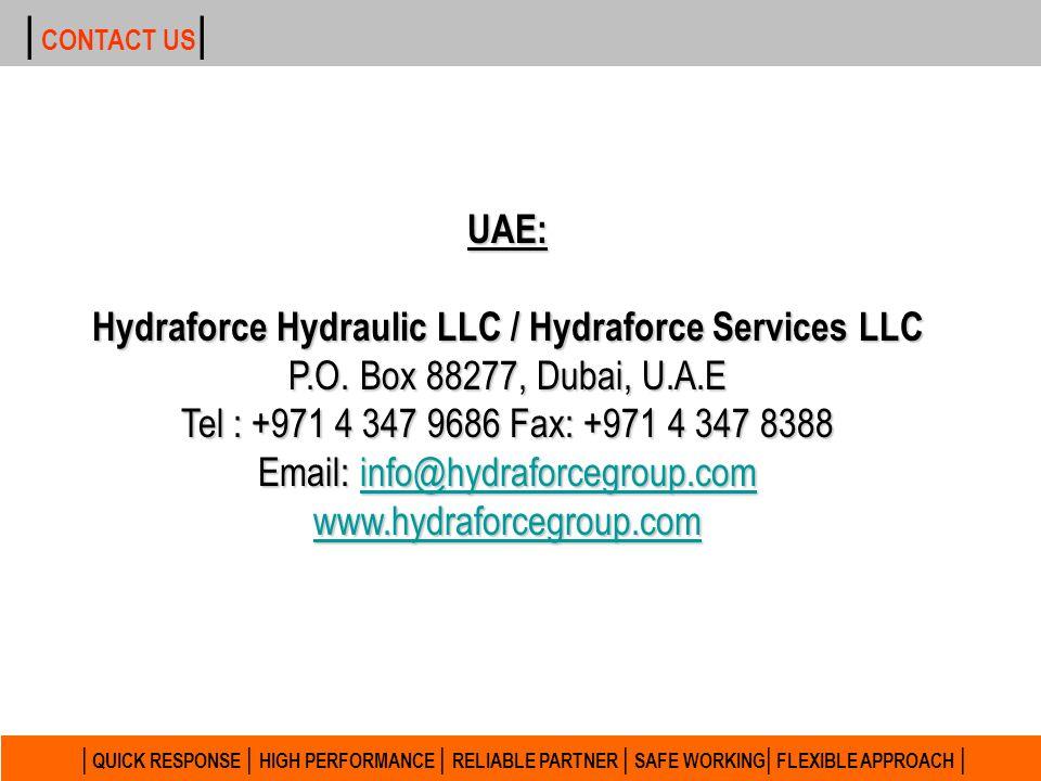 Hydraforce Hydraulic LLC / Hydraforce Services LLC
