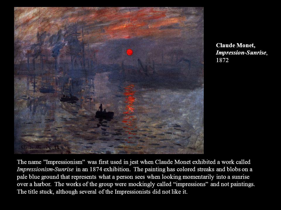 Claude Monet, Impression-Sunrise, 1872