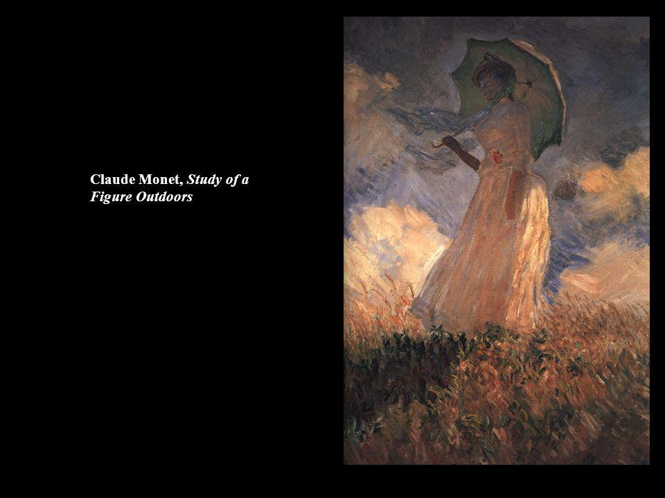 Claude Monet, Study of a Figure Outdoors