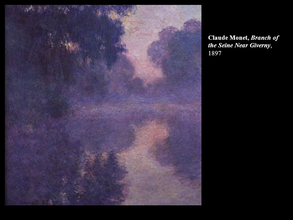 Claude Monet, Branch of the Seine Near Giverny, 1897