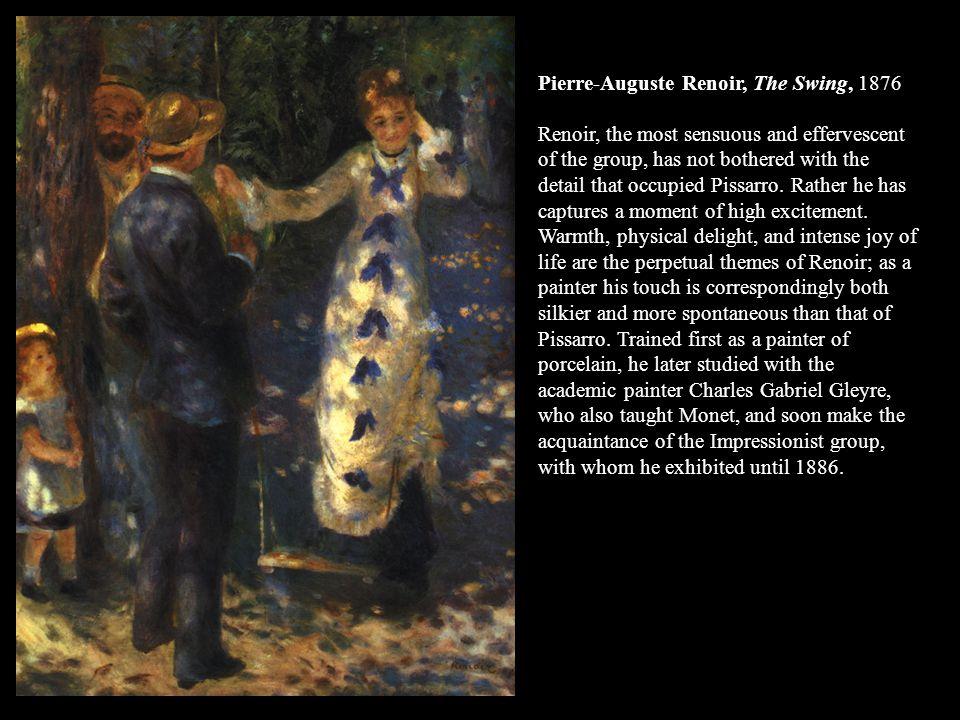 Pierre-Auguste Renoir, The Swing, 1876