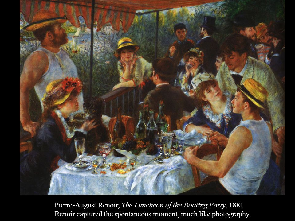 Pierre-August Renoir, The Luncheon of the Boating Party, 1881