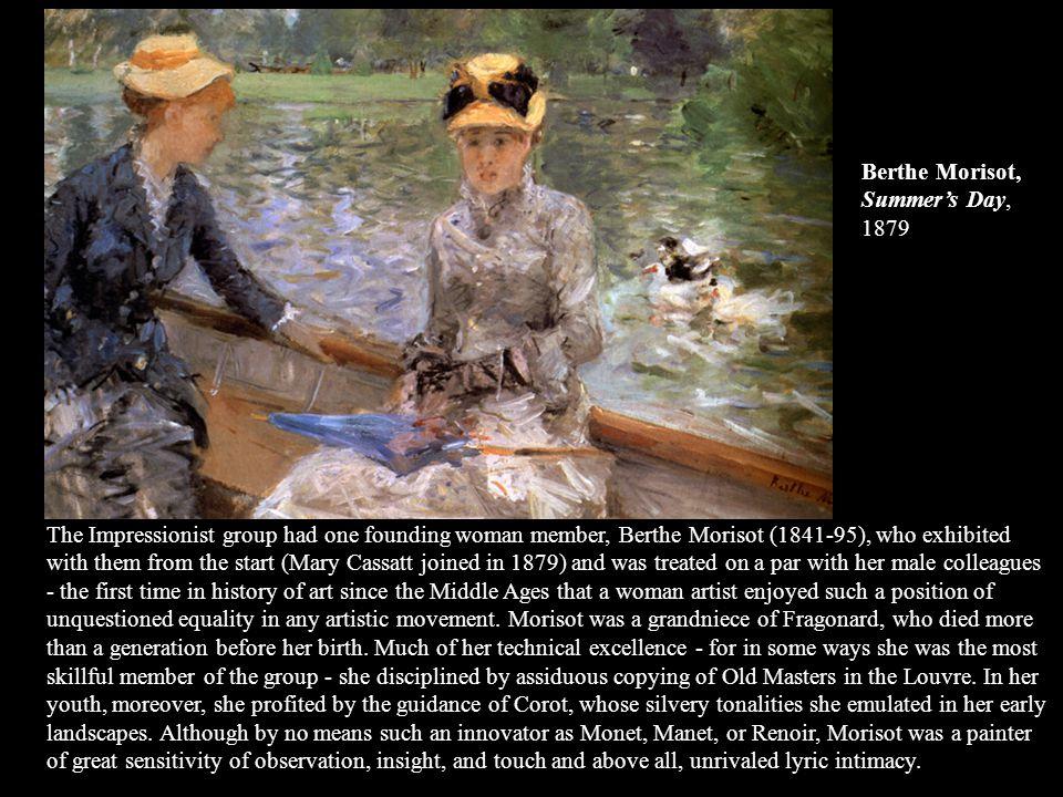 Berthe Morisot, Summer's Day, 1879