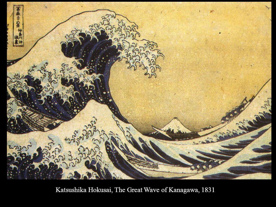 Katsushika Hokusai, The Great Wave of Kanagawa, 1831