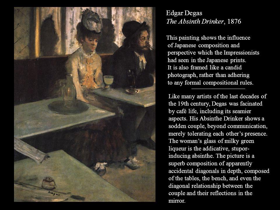 Edgar Degas The Absinth Drinker, 1876