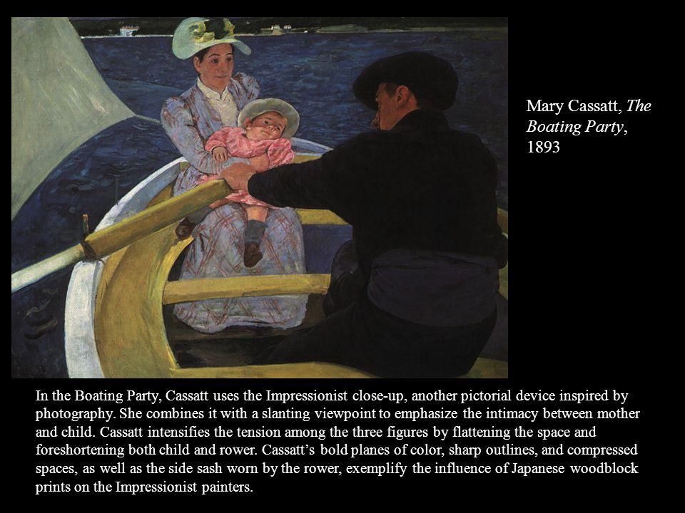 Mary Cassatt, The Boating Party, 1893