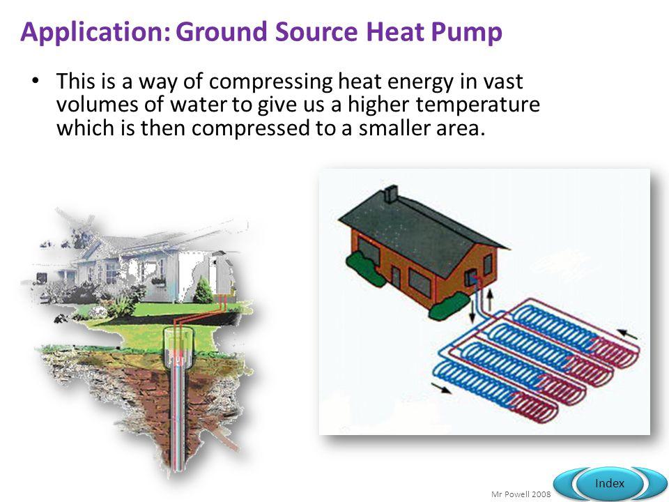 Application: Ground Source Heat Pump