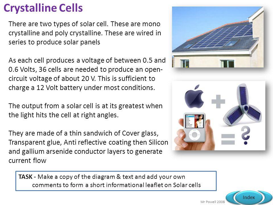 Crystalline Cells