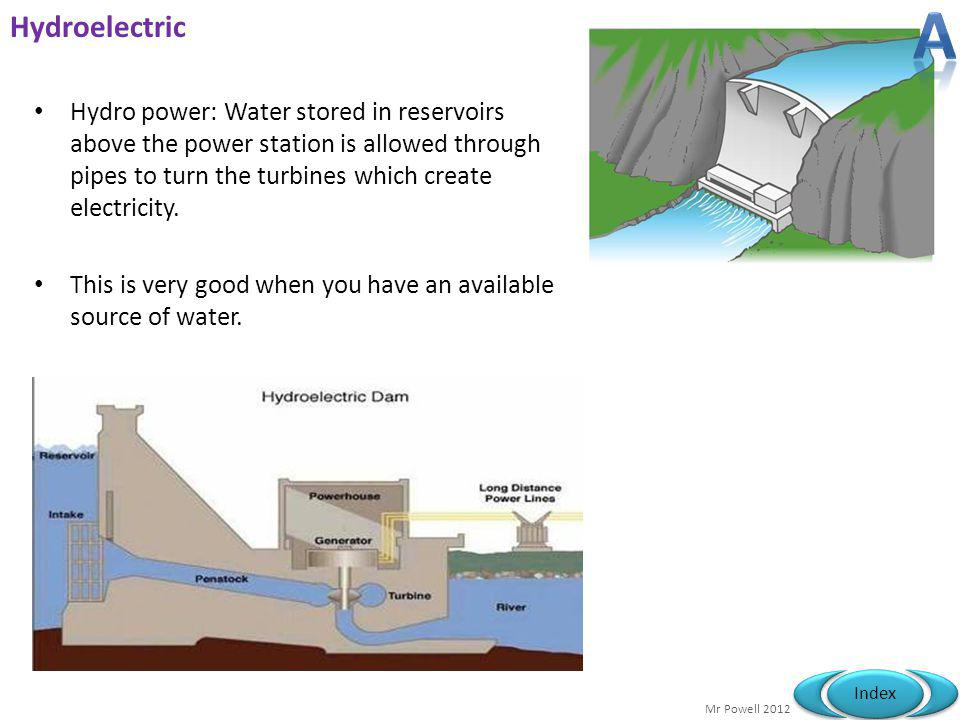 A Hydroelectric.