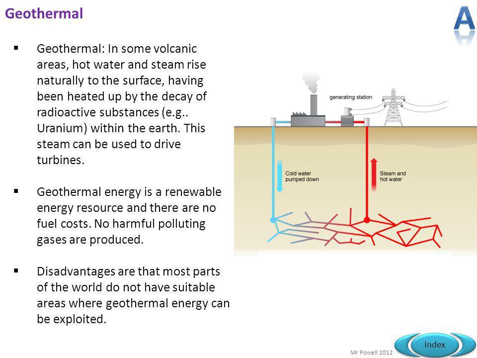 A Geothermal.