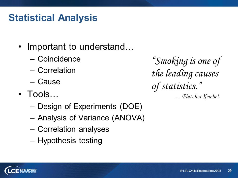 Smoking is one of the leading causes of statistics.