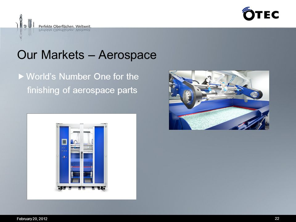 Our Markets – Aerospace