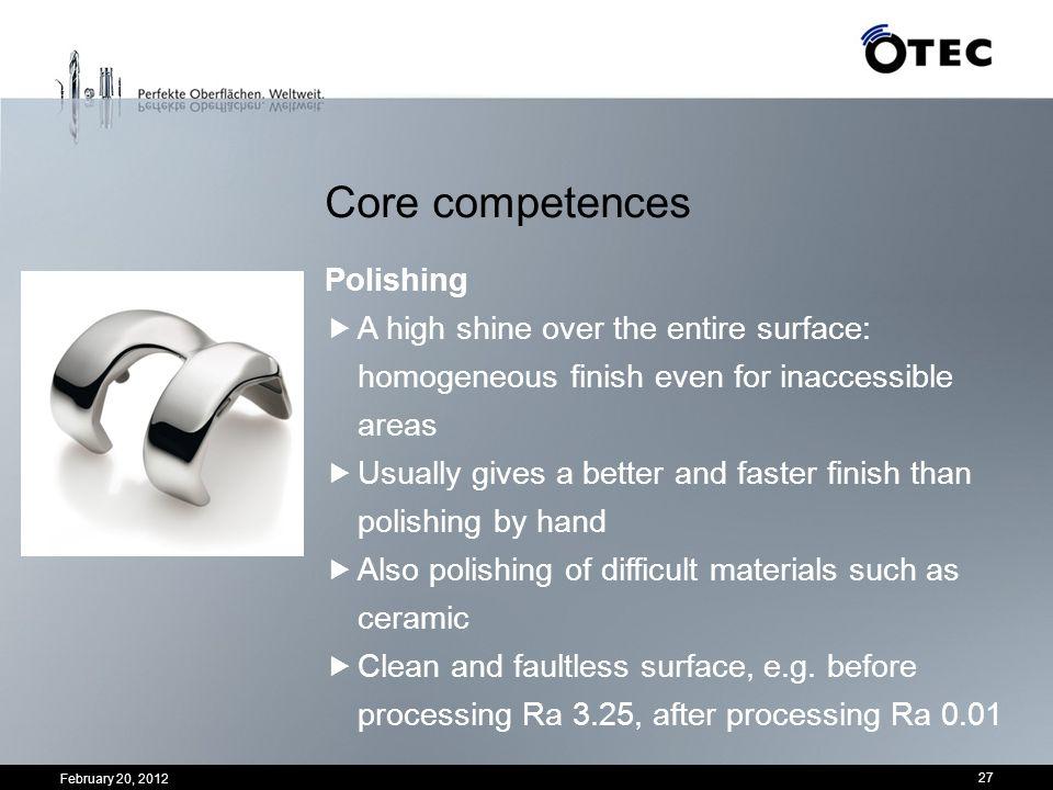 Core competences Polishing