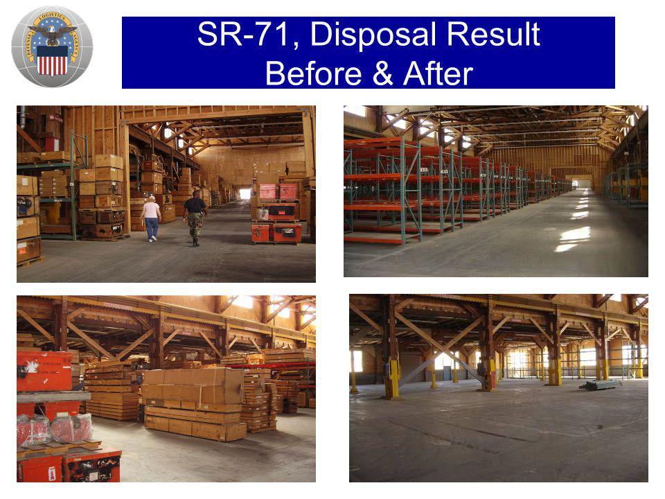 SR-71, Disposal Result Before & After