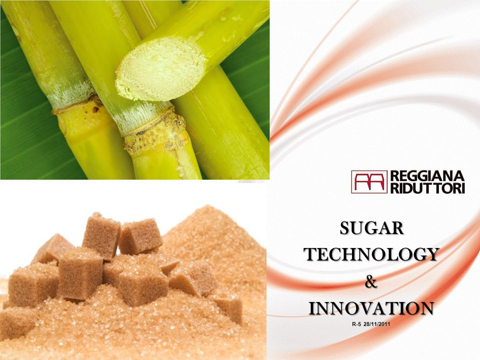 SUGAR TECHNOLOGY & INNOVATION