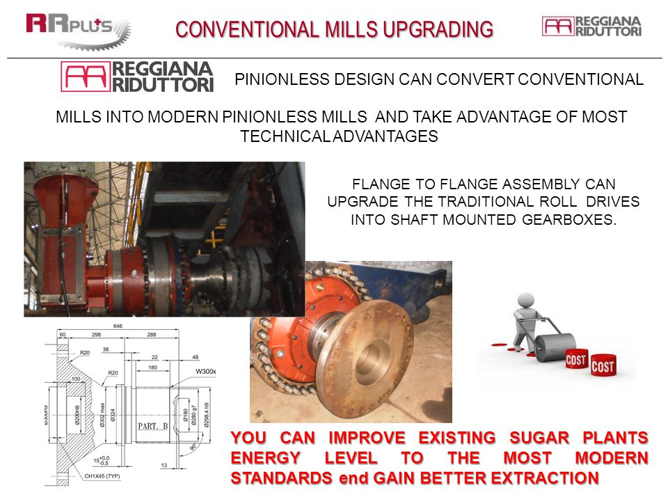 CONVENTIONAL MILLS UPGRADING