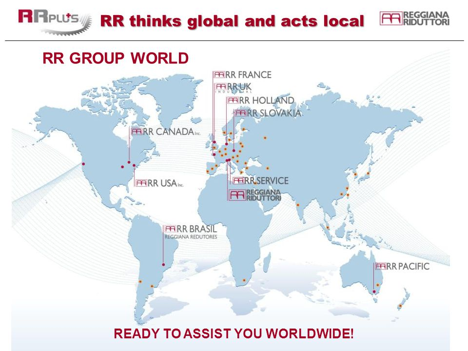 RR thinks global and acts local
