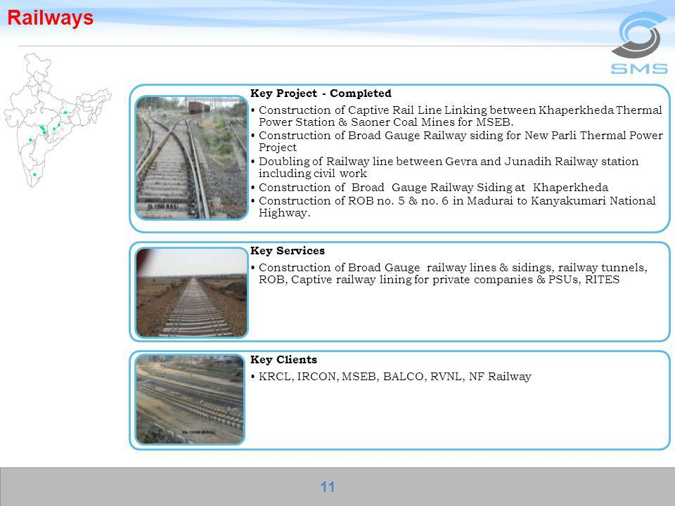 Railways Key Project - Completed