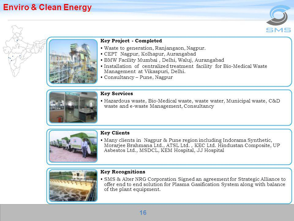 Enviro & Clean Energy Key Project - Completed