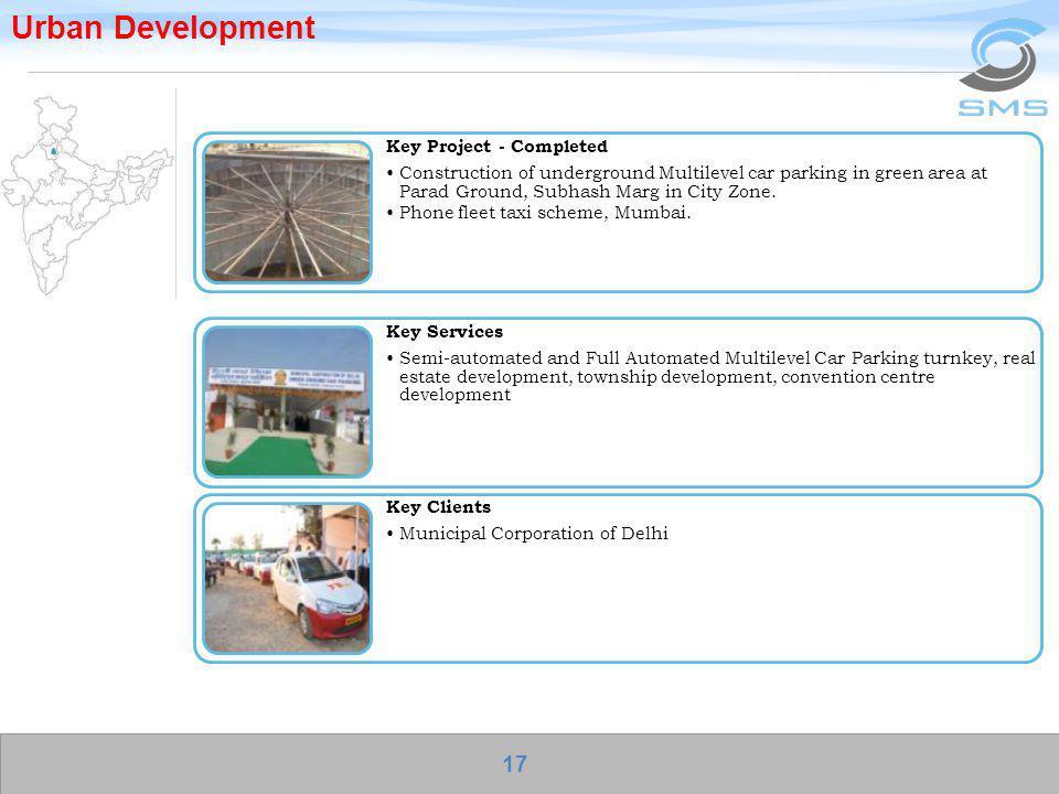 Urban Development Key Services