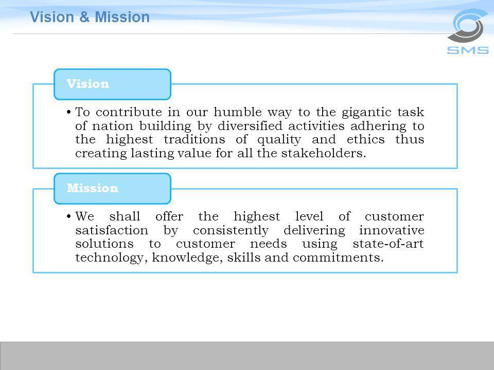 Vision & Mission Vision