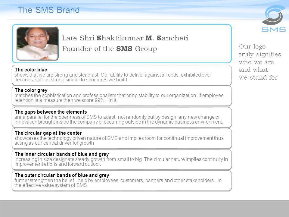 The SMS Brand Late Shri Shaktikumar M. Sancheti