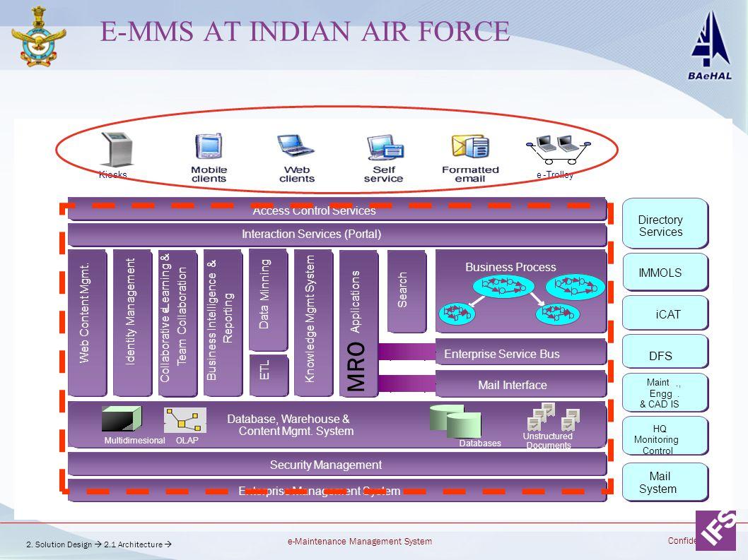 E-MMS at Indian air force