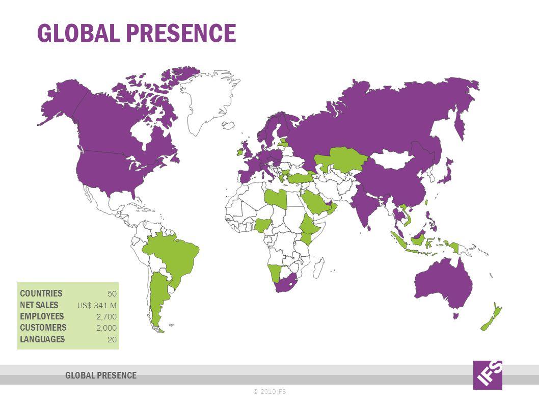 IFS Presentation Global Presence.