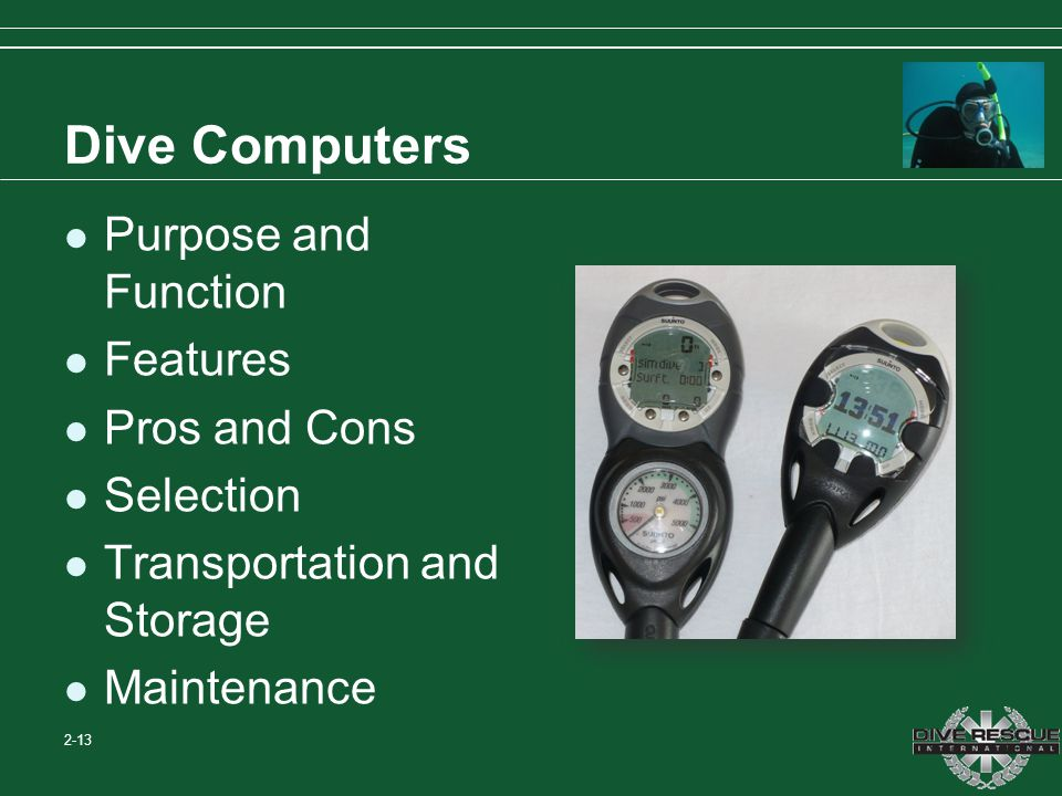 Dive Computers Purpose and Function Features Pros and Cons Selection