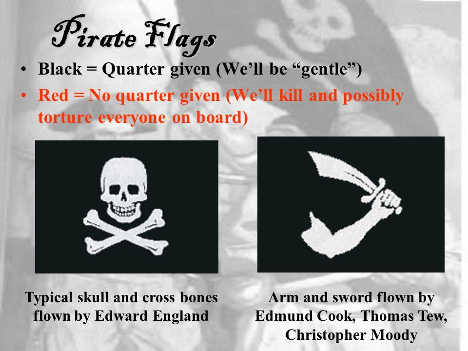 Pirate Flags Black = Quarter given (We'll be gentle )