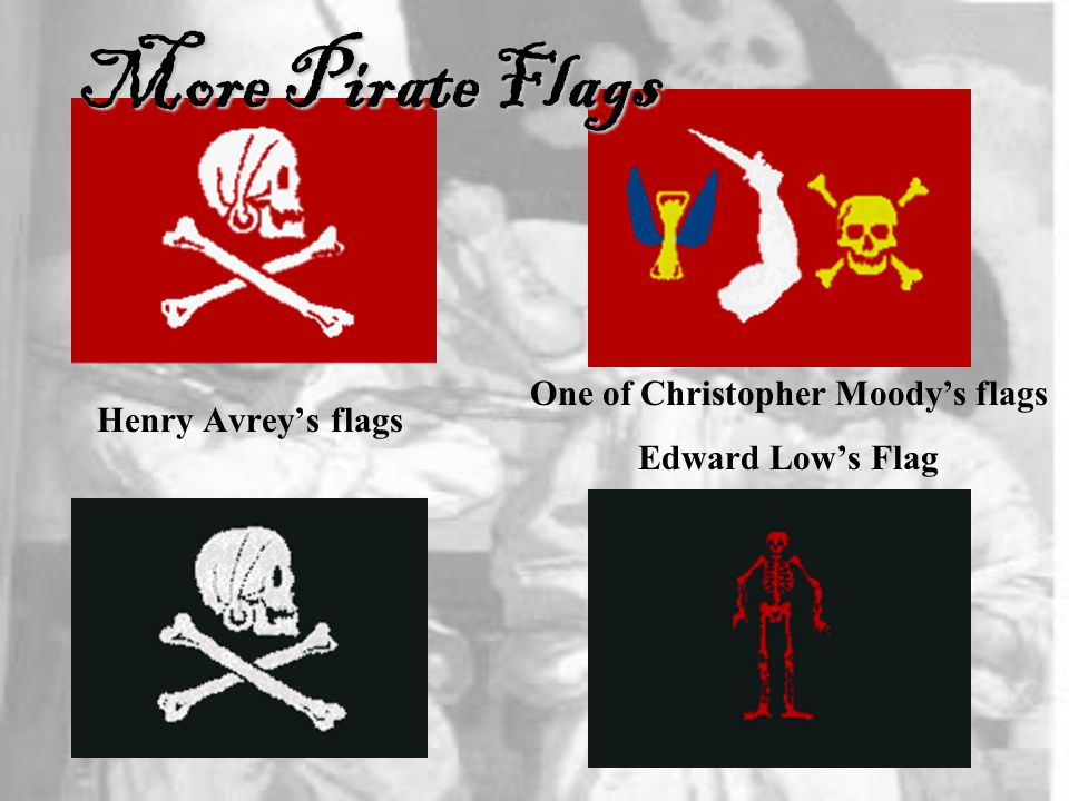 One of Christopher Moody's flags