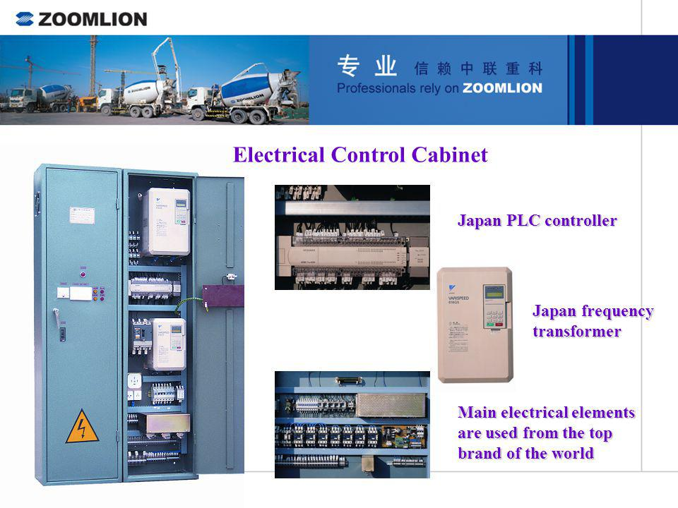 Electrical Control Cabinet