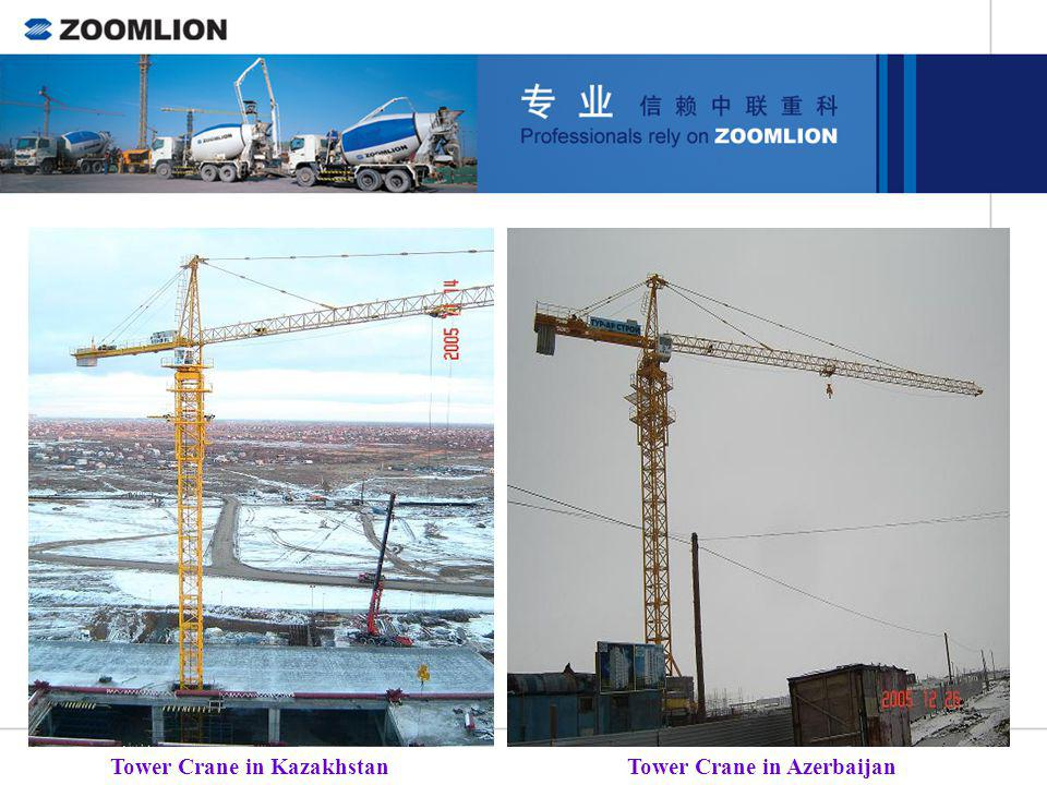 Tower Crane in Kazakhstan
