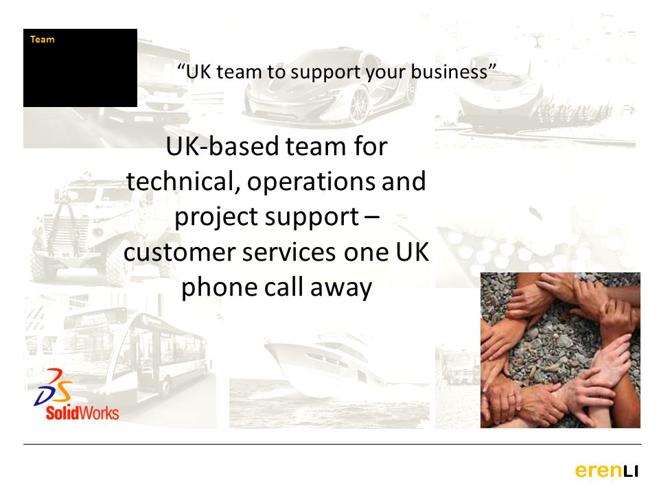UK team to support your business