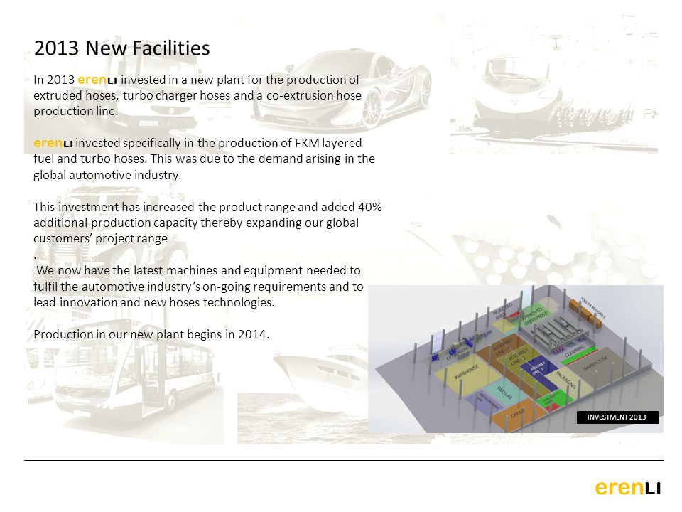 2013 New Facilities