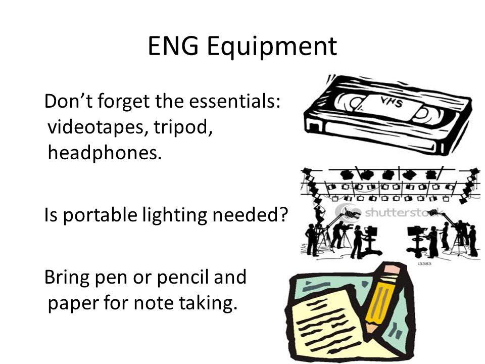 ENG Equipment