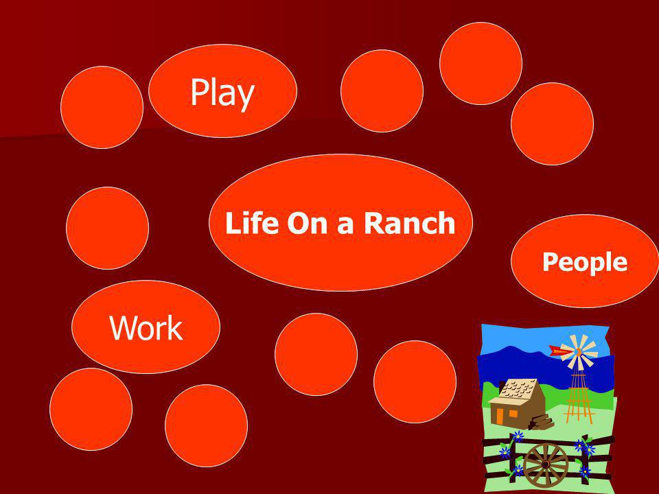 Play Life On a Ranch People Work