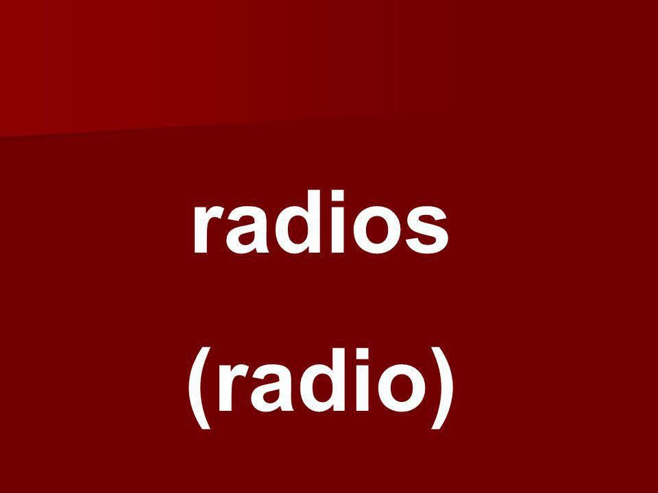radios (radio)